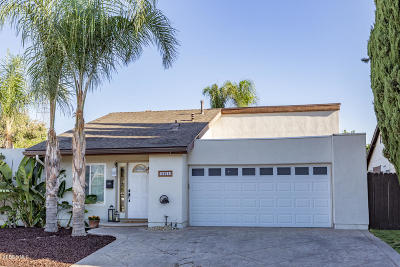 Simi Valley Single Family Home Active Under Contract: 3805 Acorn Court