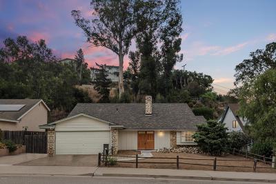 Ventura Single Family Home Active Under Contract: 352 Aliso Street