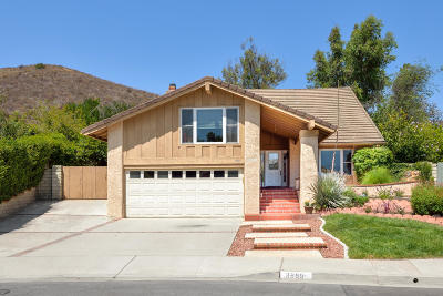 Newbury Park Single Family Home For Sale: 3999 Barcelona Place
