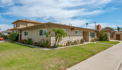 Oxnard Single Family Home For Sale: 645 W Cedar Street