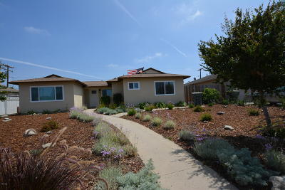 Oxnard Single Family Home Active Under Contract: 2058 S J Street