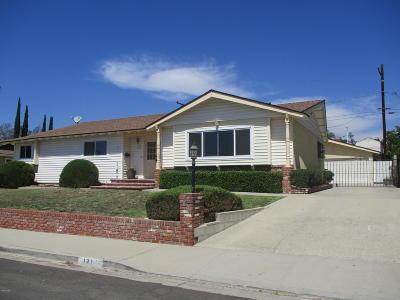 Santa Paula Single Family Home For Sale: 121 W Virginia Terrace