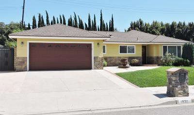 Camarillo Single Family Home For Sale: 1832 Marco Drive