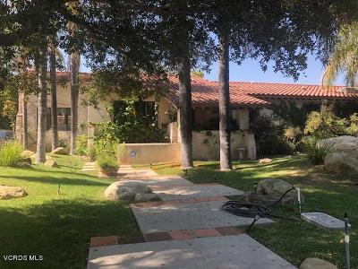 Santa Paula Single Family Home Active Under Contract: 1403 Woodland Drive