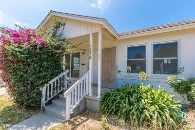 Ventura Single Family Home For Sale: 2287 Elizabeth Drive