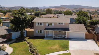 Simi Valley Single Family Home For Sale: 2476 Pierce Court