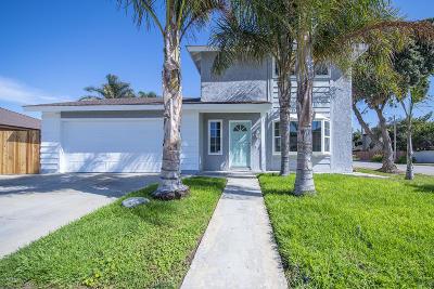 Oxnard Single Family Home For Sale: 3501 Taffrail Lane
