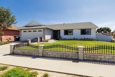 Oxnard Single Family Home Active Under Contract: 2044 Falkner Place