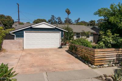 Ventura Single Family Home Active Under Contract: 630 Redwood Avenue