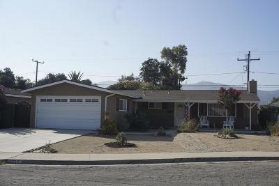 Santa Paula Rental For Rent: 1220 Bruce Drive