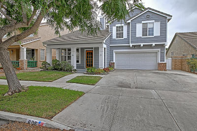Oxnard Single Family Home Active Under Contract: 606 Princessa Drive