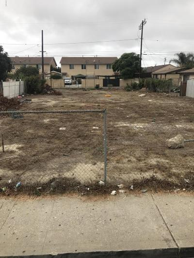 Ventura County Residential Lots & Land For Sale: 213 S Roosevelt Avenue