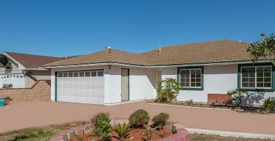 Oxnard Single Family Home For Sale: 4010 Columbia Drive