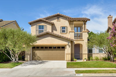 Camarillo Single Family Home Active Under Contract: 391 Twilight Court