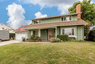 Camarillo Single Family Home For Sale: 1212 Baywood Avenue