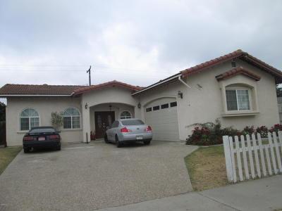 Oxnard Single Family Home For Sale: 1520 Ambrose Avenue