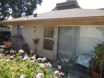 Camarillo Single Family Home Active Under Contract: 7148 Village 7
