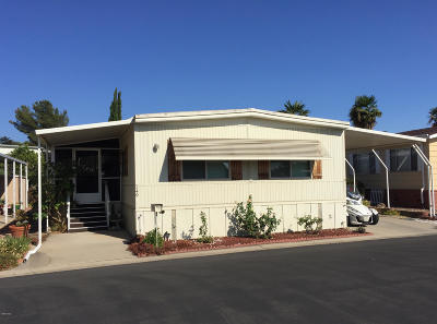 Ojai Mobile Home For Sale: 149 La Plaza Way #149