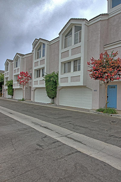 Port Hueneme Condo/Townhouse For Sale: 461 4th Place