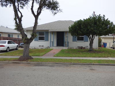 Ventura Single Family Home For Sale: 123 Arcade Drive