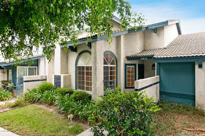 Port Hueneme Condo/Townhouse Active Under Contract: 2612 Gold Cove