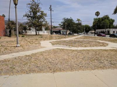Ventura County Residential Lots & Land For Sale: 404 Central Avenue