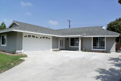 Ventura Single Family Home Active Under Contract: 5351 Lafayette Street