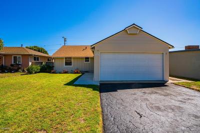Oxnard Single Family Home Active Under Contract: 1220 Deodar Avenue