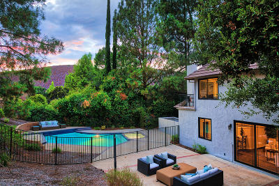 Westlake Village Single Family Home For Sale: 4196 Summit Ridge Court
