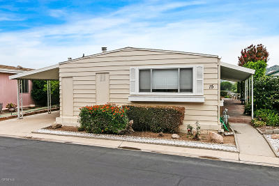 Camarillo Mobile Home For Sale: 15 Christina Avenue #176