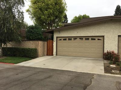 Camarillo Single Family Home Active Under Contract: 1734 Escondido Court