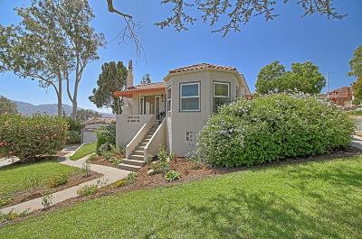 Santa Paula Single Family Home Active Under Contract: 622 Mill Street