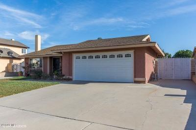 Oxnard Single Family Home Active Under Contract: 2164 Hancock Place