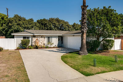 Ventura Single Family Home Active Under Contract: 1318 Lark Avenue