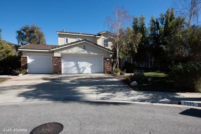 Simi Valley Single Family Home For Sale: 5895 Spirit Lake Court