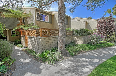 Ventura Condo/Townhouse For Sale: 233 Oakwood Street