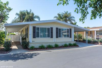Camarillo Mobile Home Active Under Contract: 3 Calle Fronte #209