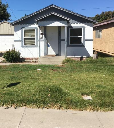 Port Hueneme Single Family Home For Sale: 123 E B Street