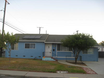Port Hueneme Single Family Home For Sale: 712 Myrna Drive