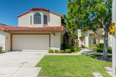 Simi Valley Condo/Townhouse For Sale: 721 Congressional Road