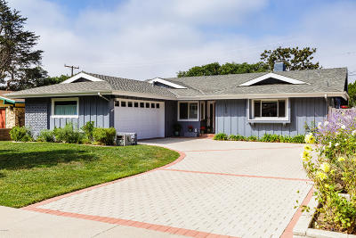 Ventura Single Family Home Active Under Contract: 123 Stratford Avenue