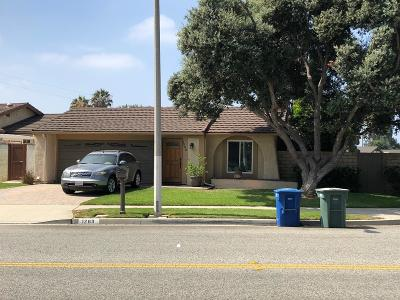Ventura Single Family Home For Sale: 1263 Lark Avenue