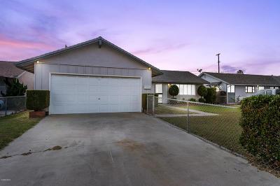 Oxnard Single Family Home For Sale: 4831 S G Street