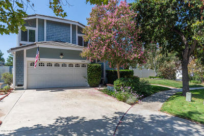 Simi Valley Single Family Home For Sale: 2533 Pinewood Court