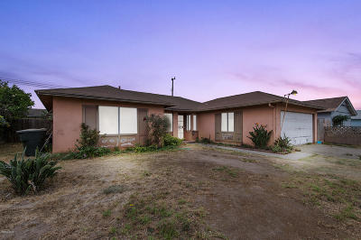 Oxnard Single Family Home For Sale: 840 E Yucca Street