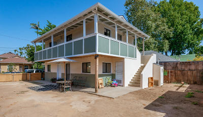 Santa Barbara Multi Family Home For Sale: 830 San Pascual Street