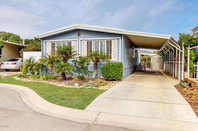 Oxnard Mobile Home For Sale: 5540 W 5th Street #102
