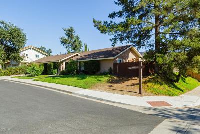 Ojai Single Family Home For Sale: 1109 Del Prado Court
