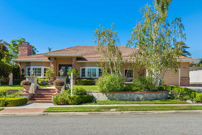 Thousand Oaks Single Family Home For Sale: 777 Calle Mandarinas