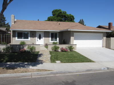 Camarillo Single Family Home For Sale: 131 W Calle La Guerra